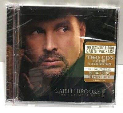 The Ultimate Hits by Garth Brooks CD 2 Discs Brand New Sealed