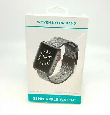 Woven Nylon Band 38MM for Apple Watch 38MM Black™