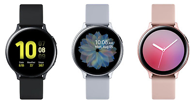 Samsung Galaxy Watch Active 2 40mm 2019 Aluminum - Fluoroelastomer - Bluetooth