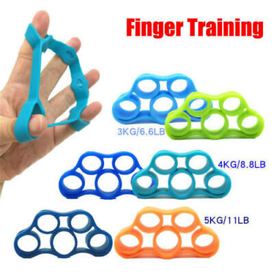 3Pcs New Flex Gripz Finger Hand Grip Trainer Resistance Band Hand