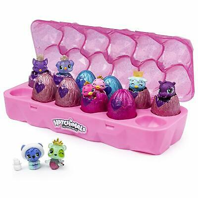 Hatchimals Colleggtibles Season 6 12 pack Royal hatch jewelry box W 2 exclusive