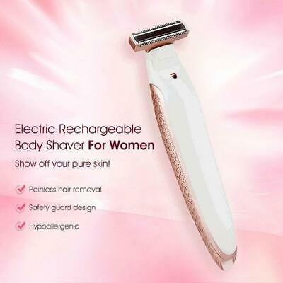 Electric Rechargeable Body Shaver For Women - 6 in 1