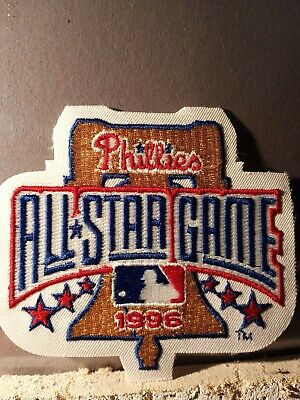1996 ALL STAR GAME  AUTHENTIC MAJOR LEAGUE BASEBALL SLEEVE PATCH PHILADELPHIA