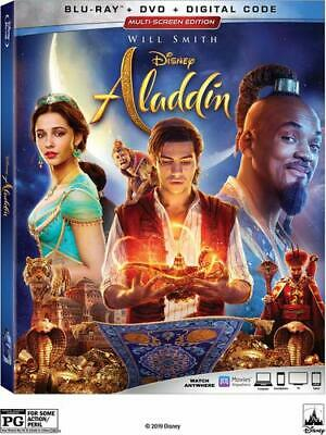 Aladdin Live Action Blu-ray Only Please read