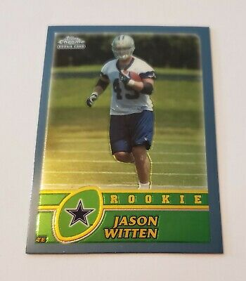 2003 Jason Witten Topps Chrome Rookie Rc 227 NICE Future Hall Of Fame