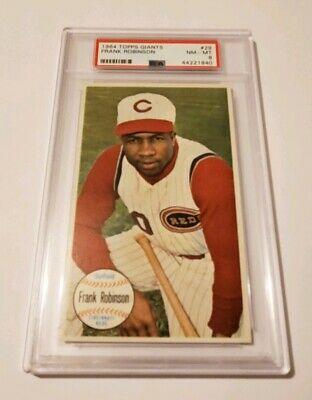 1964 Frank Robinsom PSA 8 Topps Giants 29 NICE Tough To Find Looks Mint