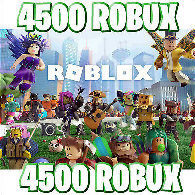 Roblox - 4500 Robux - immediate delivery