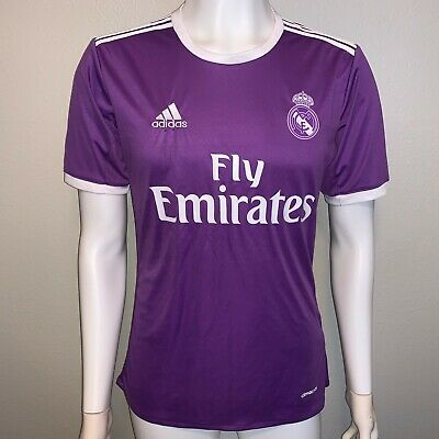 ADIDAS REAL MADRID 201617 AWAY SOCCER JERSEY ClimaCOOL Mens Small