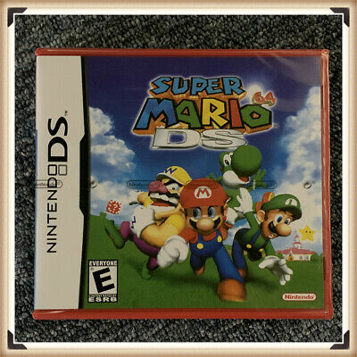 Super Mario 64 DS Nintendo DS 2004 Complete Factory Sealed Authentic