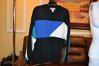 Vintage 60s 70s Basic Gear Sweater Size Large Beautiful 32