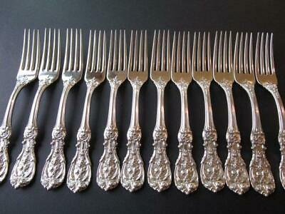 1OLD MARK PAT DATE REED BARTON FRANCIS I STERLING-FLATWARE DIN FORK 7 18 RARE