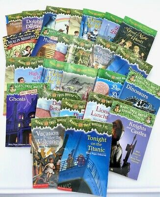 Lot of 10 Magic Tree House Home School Childrens Chapters Books Adventure