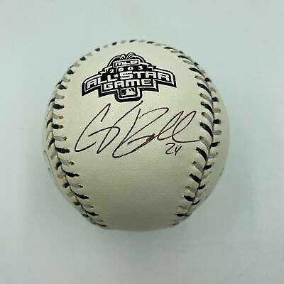 2003 All Star Game Multi Signed Autographed Baseball