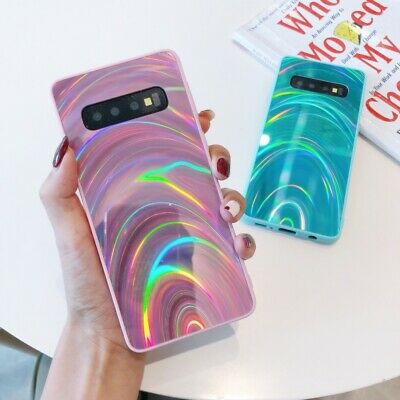 S8 S9 S10 S20 S21 Note 20 9 Slim Bling Back Shockproof Case For Samsung Galaxy