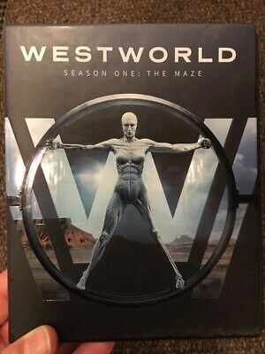 WESTWORLD Complete First Season Blu-ray Disc 2017 MINT discs FREE SHIPPING