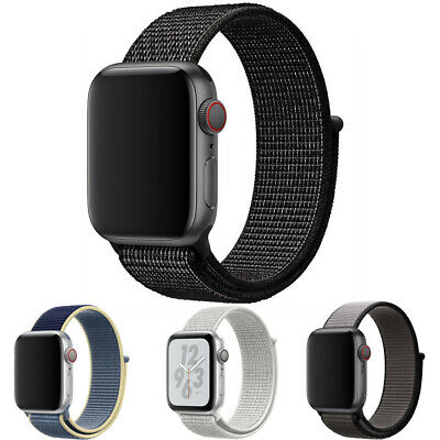 Nylon Band Strap For Apple Watch iWatch Series 6 SE 5 4 3 2 1 3840mm 4244mm