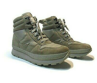 Vintage LL Bean Sherpa Lined Thinsulate Hiking Moon Boots Womens Size 7