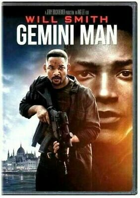 Gemini Man DVD NEW Action WILL SMITH SHIPPING NOW