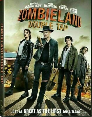 Zombieland Double Tap NEW DVD HORROR COMEDY SHIPPING NOW