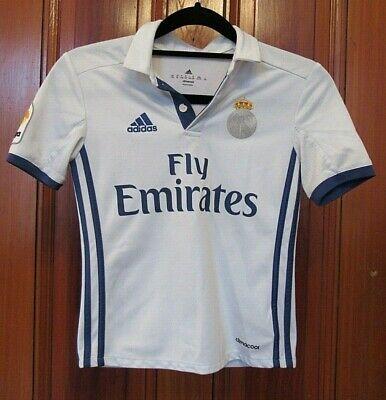 2016 Real Madrid Adidas Youth Jersey Size XS Kids Boys Soccer Football