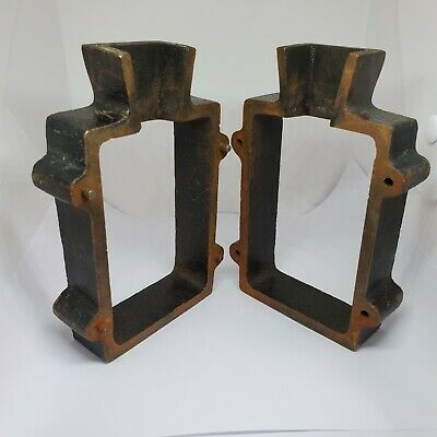 Cast Iron 2-Piece Flask Mold Frame for Sand Casting used