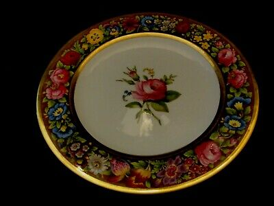 T GOODE - CO SPODE COPELAND ANTIQUE HAND PAINTED CABINET  PLATE-RARE-