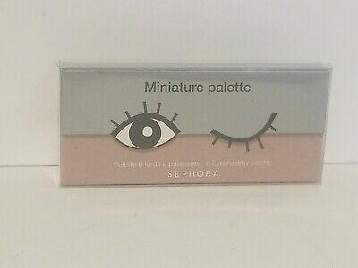Miniature 6 Eye Shadow Palette - Sephora - New in Box - NOUGAT