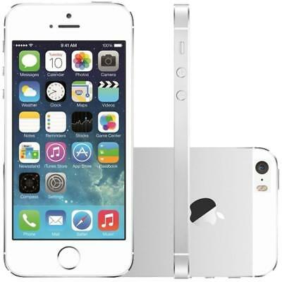 Apple iPhone 5S - 16GB - Silver  White - Unlocked - Smartphone