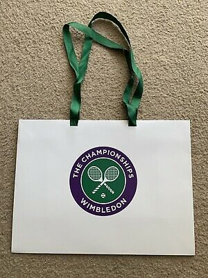 Never Used Official 2019 The Championships Wimbledon Gift Shopping Bag TENNIS