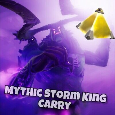 Fortnite Save The World Mythic Storm King Carry