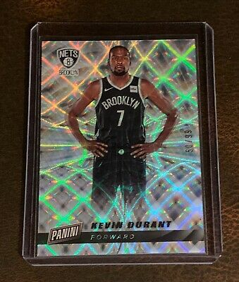 2019 PANINI CYBER MONDAY NBA 1 KEVIN DURANT CRACKED ICE REFRACTOR  5099