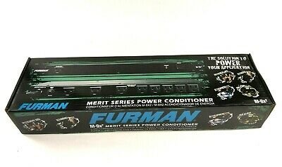 Furman M-8x2 Merit Series Performance 8 Outlet Rackmount Power Conditioner