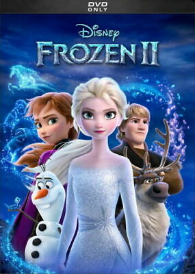 Frozen II  2 NEW DVD  ANIMATED COMEDY ADVENTURE SHIPPING NOW