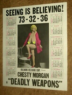 DEADLY WEAPONS 74 - Chesty Morgan   Doris Wishman  Adults only