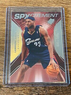 LEBRON JAMES 2006-07 UPPER DECK SPX SPXCITEMENT INSERT 2999 CAVALIERS PSA10 🔥
