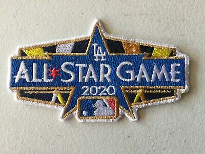 2020 ALL STAR GAME PATCH MLB BASEBALL DODGER STADIUM LOS ANGELES JULY 14TH