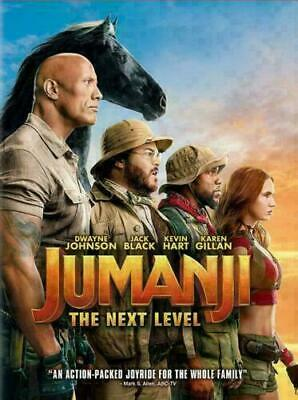 Jumanji The Next Level NEW DVD 2019  ACTION ADVENTURE Now Shipping
