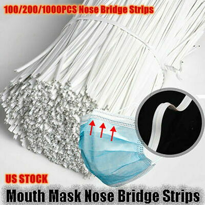 10cm Nose Bridge Strip Mouth Face Cover Fix Protection For  Making DIY Tool