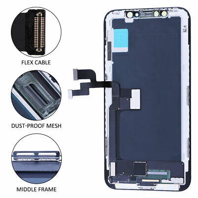 For iPhone X 5-8 Display LCD Touch Screen Digitizer Assembly Replacement USA