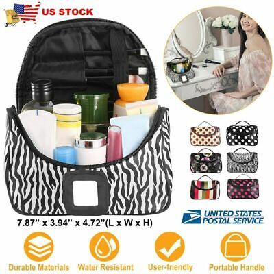 Makeup Travel Cosmetic Bag Case Multifunction Pouch Toiletry Zip Pouch Organizer