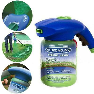 Hydro Mousse Liquid Spray For Seed Lawn Care Grass Shot Household Seeding System