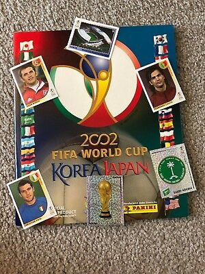 2002 Panini World Cup Soccer Sticker JapanKorea Choose 10 to complete your set
