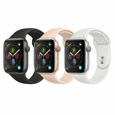 New Apple Watch Series 5 GPS 40mm Aluminum Case with Sport Band - 3 Colors