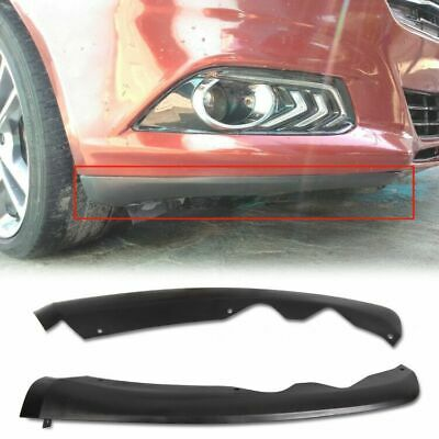 1 Pair For 2013-2016 Ford Fusion Front Black Bumper Lower Valance Set Right Left