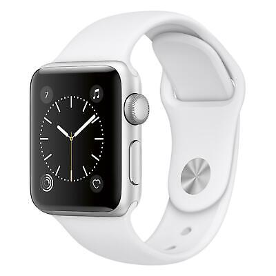 Apple Watch Series 2 - 38mm - Silver Case - White Sport Band GPS