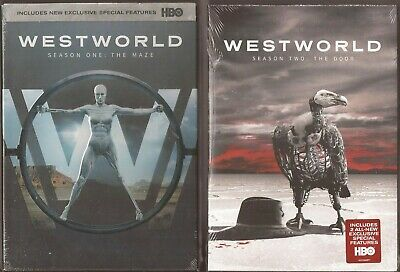 WestWorld Season 1 - 2 - DVD TV Shows One Two West World BRAND NEW