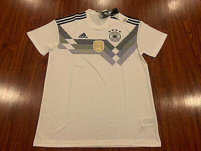 2018 World Cup Adidas Men's Germany Soccer Home Jersey Large L