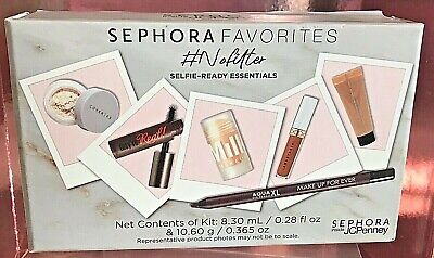 SEPHORA FAVORITES Nofilter SELFIE Ready MILK Becca COVER FX SEALED 6 PC Kit