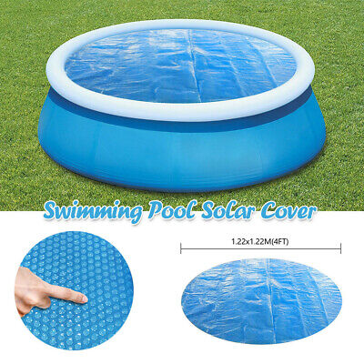 6810Ft Round Swimming Paddling Pool Cover Inflatable Easy Fast Set Rope