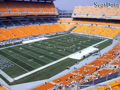 4 Steelers vs Eagles Tickets Upper Level Under Cover Close to the Aisle